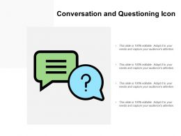 Conversation And Questioning Icon