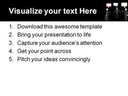 Conversation People PowerPoint Template 0510  Presentation Themes and Graphics Slide03