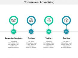 Conversion Advertising Ppt Powerpoint Presentation Gallery Template Cpb