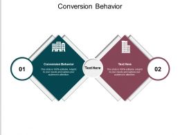 Conversion Behavior Ppt Powerpoint Presentation Show Inspiration Cpb