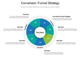 Conversion Funnel Strategy Ppt Powerpoint Presentation Design Ideas Cpb