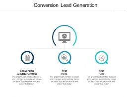 Conversion Lead Generation Ppt Powerpoint Presentation Infographic Template Styles Cpb