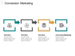 Conversion Marketing Ppt Powerpoint Presentation Gallery Shapes Cpb