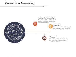 Conversion Measuring Ppt Powerpoint Presentation Icon Files Cpb