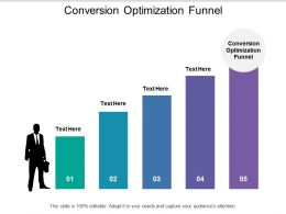 Conversion Optimization Funnel Ppt Powerpoint Presentation Gallery Examples Cpb
