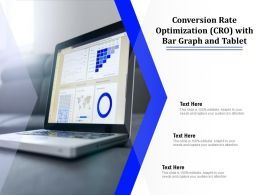 Conversion Rate Optimization CRO With Bar Graph And Tablet