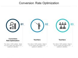 Conversion Rate Optimization Ppt Powerpoint Presentation Infographic Template Summary Cpb
