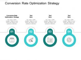 Conversion Rate Optimization Strategy Ppt Powerpoint Presentation Inspiration Introduction Cpb