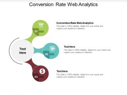 Conversion Rate Web Analytics Ppt Powerpoint Presentation Slides Download Cpb