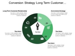 Conversion Strategy Long Term Customer Relationship Sales Enablement