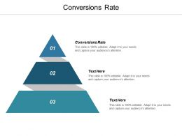 Conversions Rate Ppt Powerpoint Presentation Gallery Professional Cpb