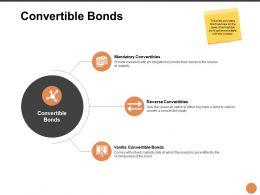 Convertible Bonds Ppt Powerpoint Presentation Ideas