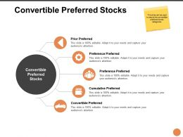 Convertible Preferred Stocks Ppt Powerpoint Presentation