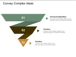 Convey Complex Ideas Ppt Powerpoint Presentation Pictures Example Cpb