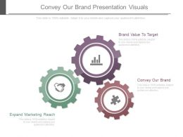 Convey Our Brand Presentation Visuals