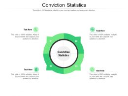 Conviction Statistics Ppt Powerpoint Presentation File Graphics Template Cpb