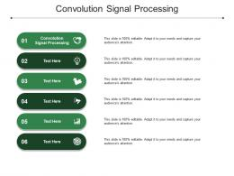Convolution Signal Processing Ppt Powerpoint Presentation Model Diagrams Cpb