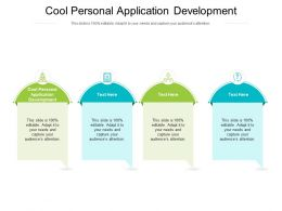 Cool Personal Application Development Ppt Powerpoint Presentation Display Cpb