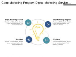Coop Marketing Program Digital Marketing Service Digital Strategy Cpb