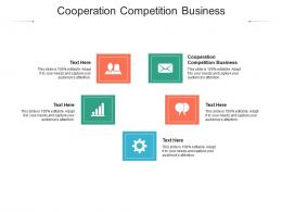 Cooperation Competition Business Ppt Powerpoint Presentation Graphics Cpb