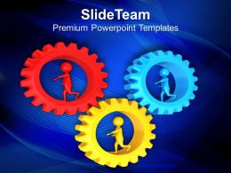 Cooperation For Maintain Business Efficiency PowerPoint Templates PPT Themes And Graphics 0513