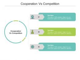 Cooperation Vs Competition Ppt Powerpoint Presentation Portfolio Deck Cpb