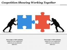 Coopetition Showing Working Together