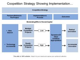 Coopetition Strategy Showing Implementation Outcomes And Process