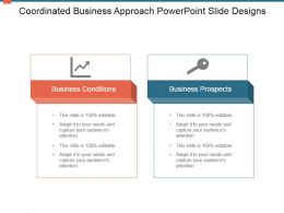 Coordinated Business Approach Powerpoint Slide Designs