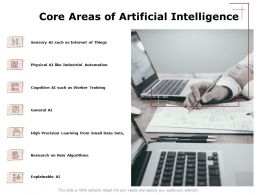 Core Areas Of Artificial Intelligence Data Ppt Powerpoint Presentation Outline