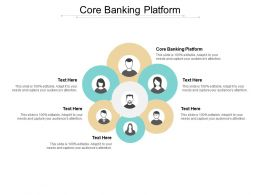 Core Banking Platform Ppt Powerpoint Presentation Portfolio Clipart Images Cpb