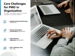 Core Challenges For PMO In Organization