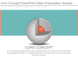 Core Concept Powerpoint Slide Presentation Sample
