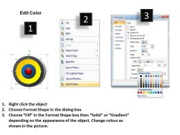 38671068 Style Cluster Concentric 3 Piece Powerpoint Template Diagram Graphic Slide