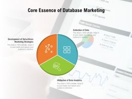 Core Essence Of Database Marketing