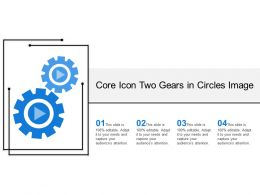 Core Icon Two Gears In Circles Image