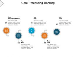 Core Processing Banking Ppt Powerpoint Presentation Pictures Graphics Design Cpb