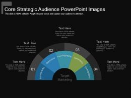 Core Strategic Audience Powerpoint Images