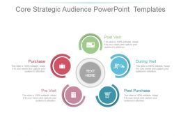 Core Strategic Audience Powerpoint Templates