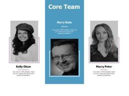 Core Team Communication L377 Ppt Powerpoint Presentation Ideas