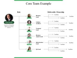 Core Team Example Ppt Icon