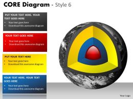 85913267 Style Cluster Concentric 3 Piece Powerpoint Template Diagram Graphic Slide