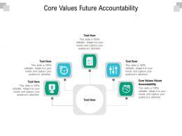 Core Values Future Accountability Ppt Powerpoint Presentation Inspiration Portfolio Cpb