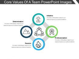 Core Values Of A Team Powerpoint Images