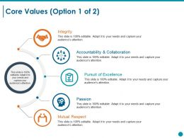 Core Values Ppt Styles Format Ideas