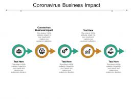 Coronavirus Business Impact Ppt Powerpoint Presentation Pictures Show Cpb