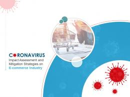 Coronavirus Impact Assessment And Mitigation Strategies On E Commerce Industry Complete Deck