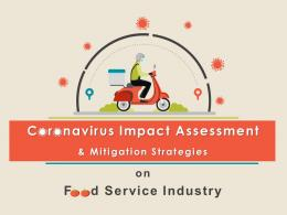 Coronavirus Impact Assessment And Mitigation Strategies On Food Service Industry Complete Deck