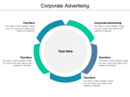 Corporate Advertising Ppt Powerpoint Presentation Gallery Show Cpb