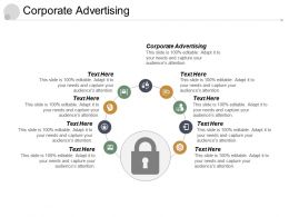 Corporate Advertising Ppt Powerpoint Presentation Infographic Template Pictures Cpb